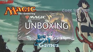 Magic The Gathering: Core Set 2019 Booster Box Unboxing
