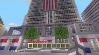 Minecraft Xbox Edition: *HUGE* New York City Map + DOWNLOAD