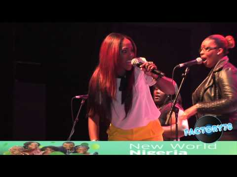 Tiwa Savage - Performs Live @ New World Nigeria 2012.