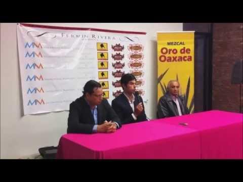 Rueda de prensa del MDT Fermín Rivera
