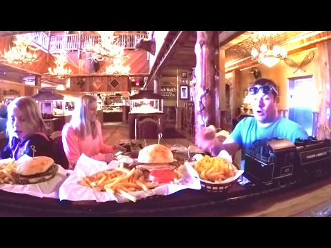 Wisconsin dells Buffalo Phil's Train Delivers Food