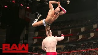 Cesaro vs. Sheamus — Best of Seven Series - Match No. 2: Raw, Aug. 29, 2016