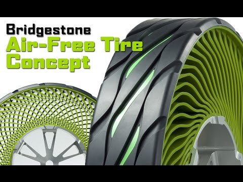 Bridgestone Introduces Air-Free Concept Tyres