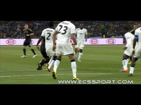 Hans Sarpei Ball in Face [Germany vs. Ghana]