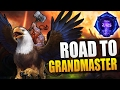 Falstad - basic attack build // Road to Grandmaster S3 // Heroes of the Storm