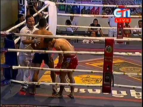 CTN Boxing, Soum Dern Ti VS Ret Mauny, 24-Aug-2014, Round 05 End