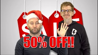 WhatCulture Shop Black Friday 50% Sale!