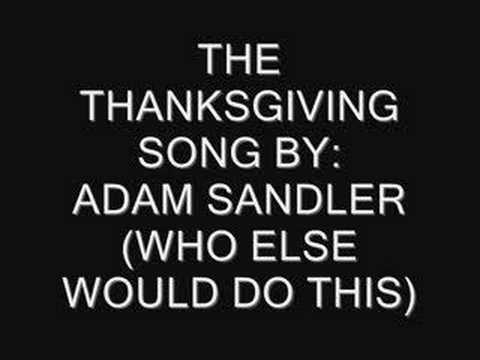 The Turkey Song video