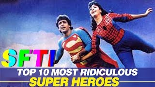 Top 10 Most Ridiculous Super Heroes - SFTI Countdown #8 - Comedy One