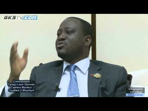 GKSTV - 25.40 - Guillaume Soro devant la presse camerounnaise
