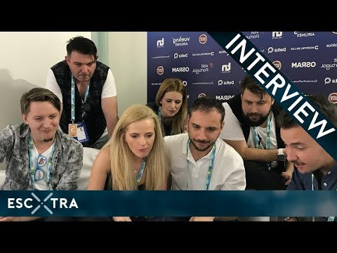 LIVE INTERVIEW: The Humans (Romania 2018) // ESCXTRA.com