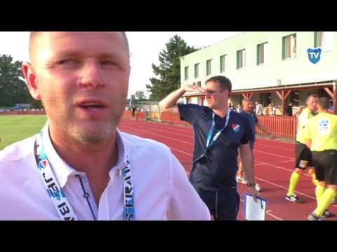 MOL Cup: Radim Kučera hodnotí výhru v Hulíně (5:0)