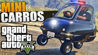 GTA 5 MOD Mini Carros da Policia