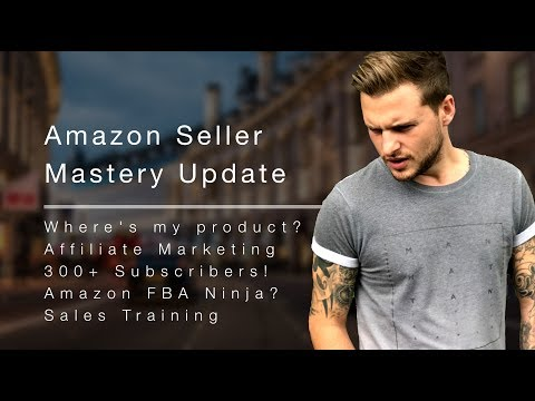 Amazon Seller Mastery / Affiliate Marketing Update + Amazon FBA Ninja - Jonny Bradley