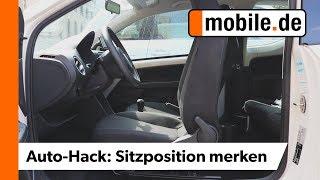 Finde die richtige Sitzposition in deinem Auto | mobile.de