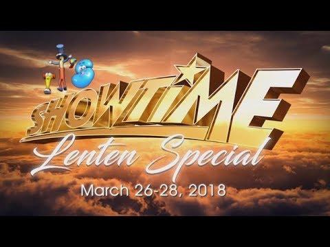 It's Showtime: Lenten Special 2018