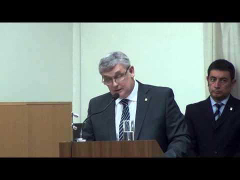 Decano José Leandro Basterra - Su asunción