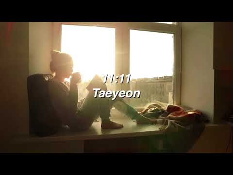 11:11 By Taeyeon If You're Sitting By The Window Reading A Book.