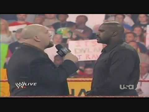 WWE-Shaquille O'Neal confronts Chris Jericho and  Big Show