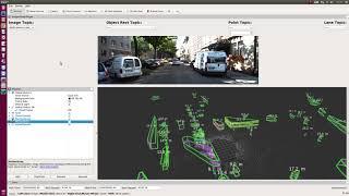 Build Autoware ROS nodes : LiDAR Euclidean Cluster Detect
