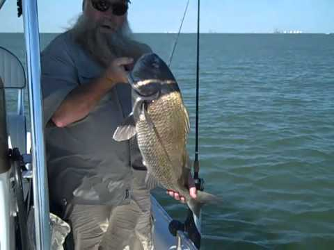 Fishing Sabine Pass Jetty's with Kathleen and KRS 10/20/2012