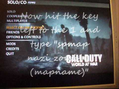 CoD WaW Pc How to Play Custom Zombie Maps