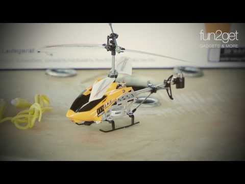 fun2get ferngesteuerter Helikopter Orange Blood mit Motion Control