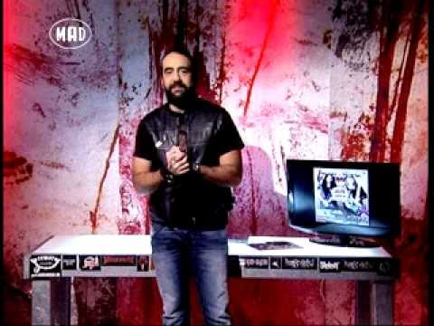 Manowar, Sleel Panter & Suicide Silence (TV War 10.3.14)