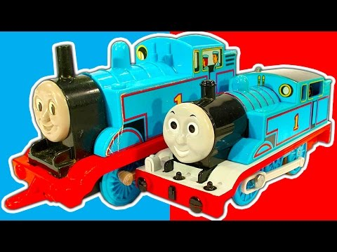 Thomas The Tank Collection 12 Huge Box Of Classic Thomas And Friends Toys video