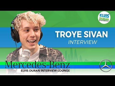 Troye Sivan on Writing With His Best Friends, and Learning From Mistakes   Elvis Duran Show