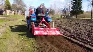 foton 254 - chinese tiller first test