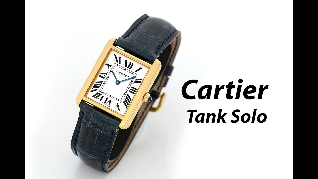 Cartier Gold Watch Mens Gold Mens Watch W1018855