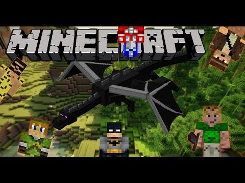 MINECRAFT DRAGON ESCAPE # 17 - Moderation Br4mm3n Style «» Let's Play Minecraft | HD