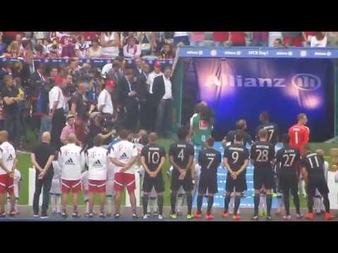 Fc Bayern München Teampresentation 2014/2015 Allianz Arena 09.08.14
