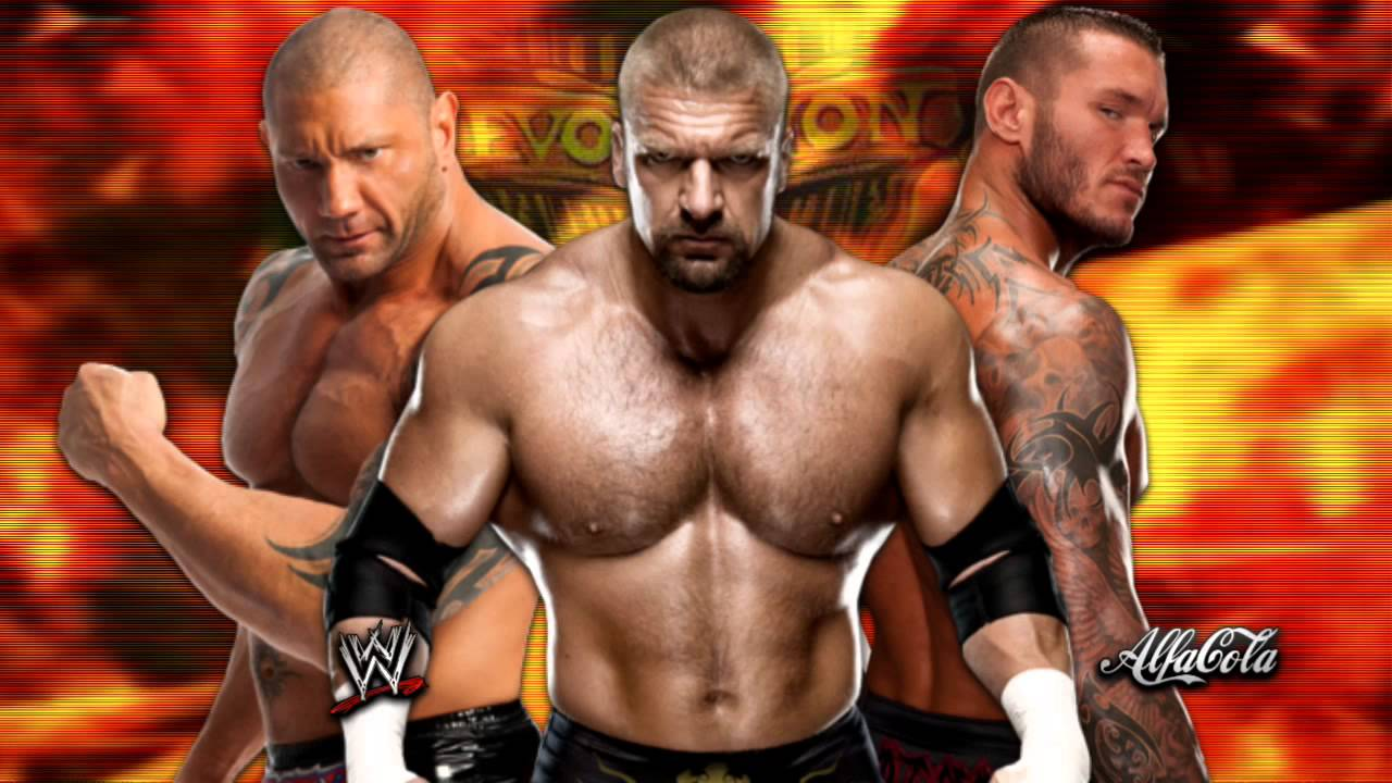 Triple H Evolution 2014 WWE Evolution -   Line In The
