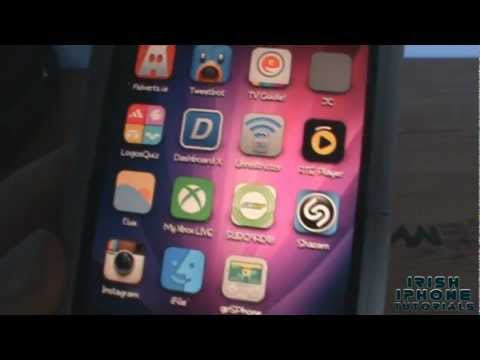 Ayecon : Best Iphone 4 Theme From Cydia + Free Download video