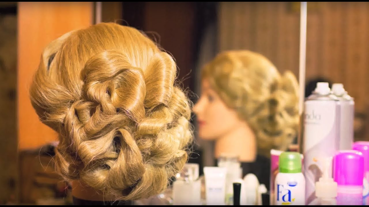 Щипцы для волос волна прическа