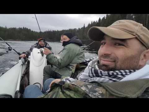 рыбалка в карелии летом на пяозере видео