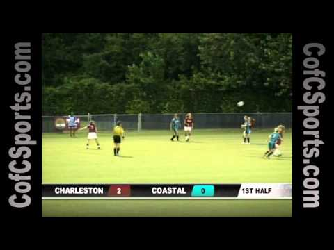 8.28.10 Women's Soccer vs. Coastal Carolina Highlights