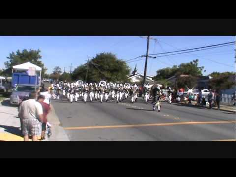 Buhach Colony High School Marching Band @ Delta Band Review 2013