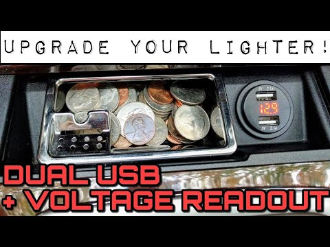 Upgrade Your Cars Cigarette Lighter To Dual USB