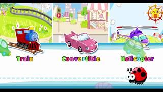 Learn Name Cars - Vehicles for kids - Kids cartoon