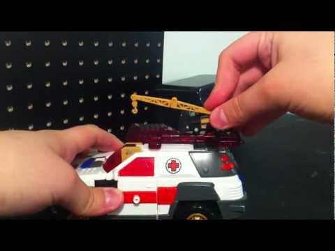 Transformers Armada Red Alert Review