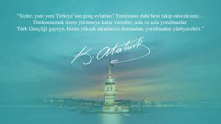 19 Mayıs Atatürk'ü Anma ve Gençlik Spor Bayramı'nı kutluyoruz!