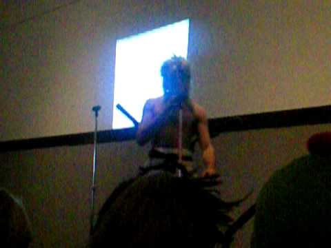 Shirtless Guy karaoke