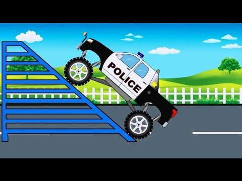 Police Monster Truck: Monster Trucks for Children by Kids TV Show