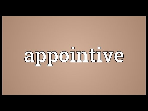 Header of appointive