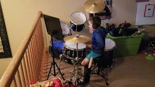 twenty one pilots: Heathens (6 Year Old Brayden Drum Solo)