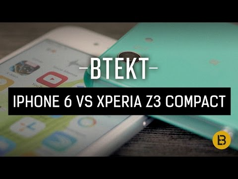 Apple iPhone 6 vs Xperia Z3 Compact