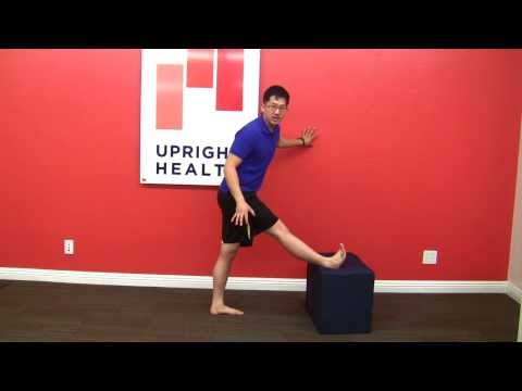 Foot point out to the side? Stretch your biceps femoris!